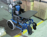 Fauteuil roulant manuel de THR-CW958L pour des enfants d'infirmité motrice cérébrale