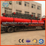 Secadora rotativa de fertilizante em pó ou granulado