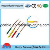 Fios flexíveis dos únicos fabricantes elétricos do fio do cabo do núcleo