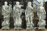 Standbeeld Van de vier seizoenen van het Beeldhouwwerk van de steen het Marmeren voor de Decoratie van de Tuin (sy-X1760)