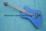 Chinês feito 5 cordas a guitarra baixa em Thunderbird azul (GB-56)