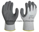 Gant de travail de latex de la doublure de l'hiver (LY3011)