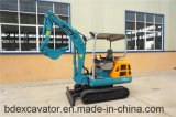 Excavatrice 2.3t de chenille de Baoding mini avec la plaque de bouteur