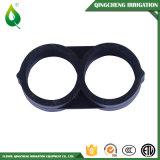 Tubes de tuyau d'irrigation à goutte à goutte en plastique 8 Forme