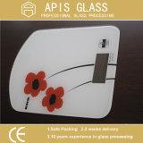 Aparato de Cocina de alta calidad de impresión Silk-Screen Mobiliario de vidrio templado