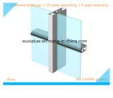 Mur rideau en verre en aluminium économiseur d'énergie