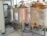 Jacketed発酵システムが付いている赤い銅のClabビールBrewhouse