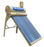 통합적인 사기질에 의하여 압력을 가하는 태양 온수기