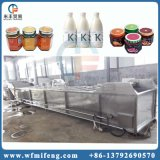 Ligne mis en bouteille de stérilisation de pasteurisation pour la nourriture mis en bouteille par glace en boîte