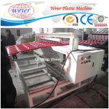 Strato ondulato del tetto del PVC dell'animale domestico che fa la linea di produzione del tetto del PVC della macchina