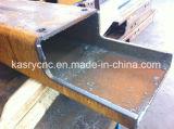 Macchina facente fronte di perforazione del foro di taglio del fascio del piatto di profilo del tubo della fiamma del plasma di CNC di Autumatic di follia