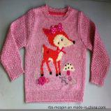 Niños Niño Suéter Niñas Intarsia True Knitted Sweater