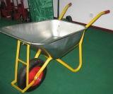 Brouette de roue en acier de la Russie avec la qualité (Wb6438)
