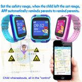 Шагомер GPS способа отслеживая телефон Y15 вахты отслежывателя GPS малышей