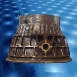 製鉄所、Smelting店のためのスラグひしゃくのための鋳鉄のスラグ鍋