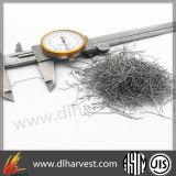 Crochet en acier inoxydable pour les fibres de matériaux métalliques
