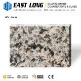 Cut-to-Size lajes artificiais da pedra de quartzo para Tabletops da barra