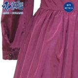 Vestito rosso dalla lanterna delle donne della Rosa del manicotto di lunghezza di inverno per le ragazze