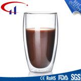 De populaire Kop van de Thee van het Glas van de Vorm van de Cilinder (CHT8624)