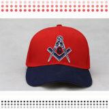5 gorras de béisbol del bordado del SGS del panel