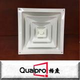 Griglie rotonde di alluminio AR6312 di ventilazione del cunicolo di ventilazione del condizionatore d'aria del soffitto