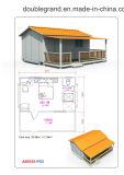 HOME pré-fabricada de montagem econômica e rápida de /Prefab da casa (DG4-017)