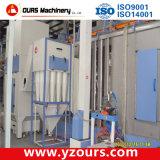Machine automatique de revêtement en poudre avec de petits/Multi Cyclone
