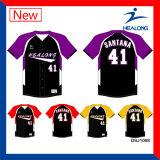 Healong alta calidad de encargo baratos de sublimación de los jerseys de béisbol Uniforme Ropa