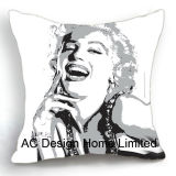 Decoration Public garden Marilyn Monroe Design Decoration Fabric Cushion W/Filling