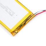 3.7V 1200mAhの電源李ポリマー電池