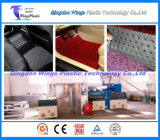 Plástico PVC Car Mat Making Line / PVC Coil Carpet Matting Extruding Machine