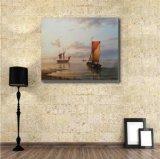 Peinture à l'huile de Sailling Boat