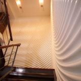 feste acrylsaueroberflächenwände des dekorativen Stein-3D