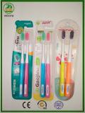Quente quente quente! bom Toothbrush adulto bem escolhido da embalagem 2-PC, do amante ou da família