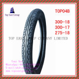 Größe 300-18, 300-17, Reifen des Qualität 275-18 ISO-Nylonmotorrad-6pr