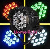 24PCS 4 en 1 IGUALDAD enciende la lámpara para el partido de la luz de la música de los discos de la lámpara del partido del club