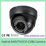 1台のハイブリッドHDのカメラのAhd HD-Tvi Cvi CvbsアナログCCTVのカメラに付き金属のドームの赤外線4台