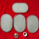 Disco de filtro con malla de alambre de acero inoxidable