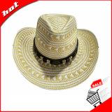 Ковбой соломы Briad бумаги Red Hat деловых обедов для женщин и