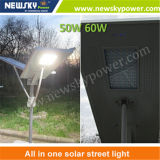 LED Integrated All in Un LED Solar Street Lamp con CE e RoHS