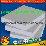 알루미늄 호일 뒤를 가진 서류상 석고 보드 또는 백색 색깔 PVC 석고 천장 도와 또는 널