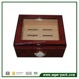 Коробка сигары оптового ориентированного на заказчика хранения деревянная