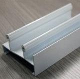 Perfil de alumínio com o melhor revestimento do pó do tratamento de superfície da venda, ruptura térmica, anodizando, prata que lustra, polonês dourado