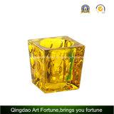 Изображение большего размера стекла лампы в форме свечи в куб для Tealight интерьер