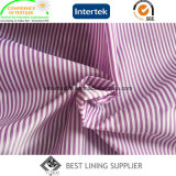 Dos tonos de Poliéster 100 traje tejido de revestimiento de proveedor de banda