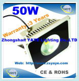 Yaye 18 Hot Sell Ce / RoHS COB 50W LED Flood Light / COB 50W LED de inundação com 3 anos de garantia