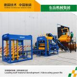 Máquina de tijolos de concreto leve Qt4-15 Linha de produção da máquina de fabricação de blocos
