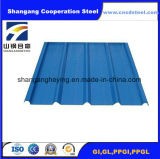 Tausendstel-Lager-gewölbtes Dach-Blatt für Baumaterial