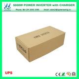 inverseur de pouvoir de véhicule de chargeur d'UPS de 5000W DC24V AC110/120V (QW-M5000UPS)