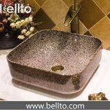 Banheiro pia em mármore de mármore de vaso de cerâmica (C-1061)